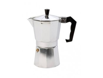 Bo-Camp - Percolator - Espresso maker - 3-Cups - Aluminium