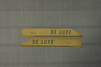 Hobby de luxe sticker