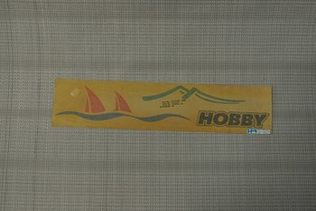 Hobby bootjessticker oud model
