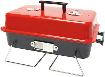 Barbecue rood tafelmodel kolen