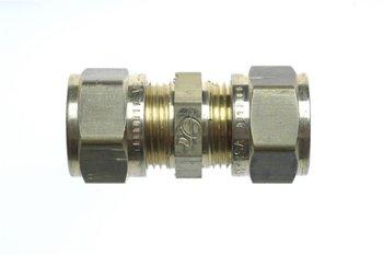Gimeg rechte aansluiting 6/8 X 6/8mm