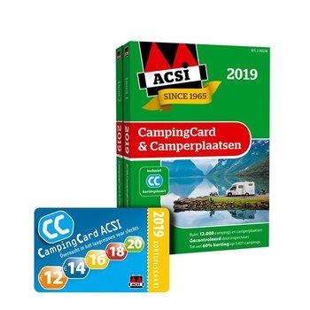 Acsi Campingcard en Camperplaatsen abonnement 2019