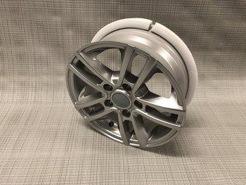 Aluminium Velg Zilver 14 Inch