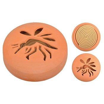 Citronella - Spiraal - Terracotta Houder - 10 stuks