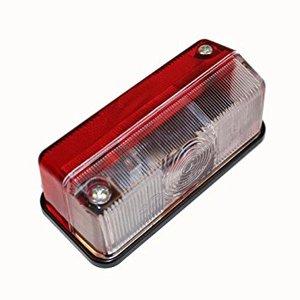 Breedtelicht rood/wit hella 92x43mm