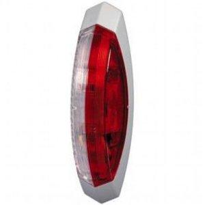 breedtelicht rechts rood/wit witteonderplaat