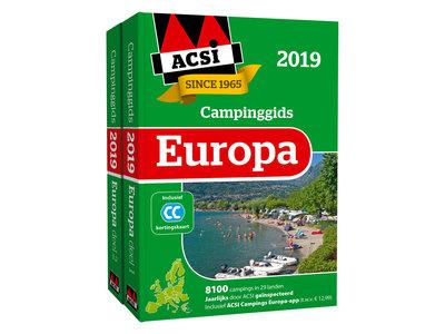 Acsi Campinggids Europa + app 2019