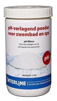 Interline pH Minus poeder 1 kg (zuurgraad verlagen)