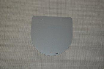 Glasplaat grijs voor kookplaat of wasbak