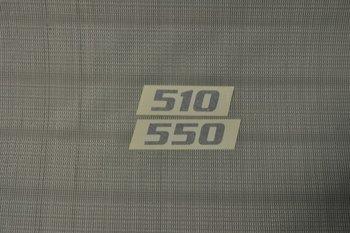 Fendt Stickers lengte caravan