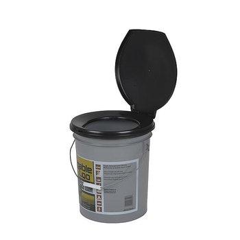 Reliance - Toiletemmer - Luggable Loo - 19 Liter - Zwart/Grijs