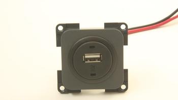 Presto Laadcontactdoos USB Inbouw 12V