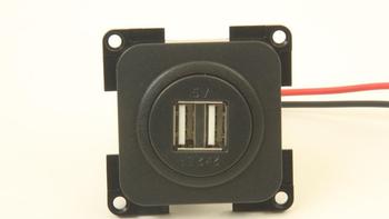 Presto Laadcontactdoos USB Inbouw 2-voudig