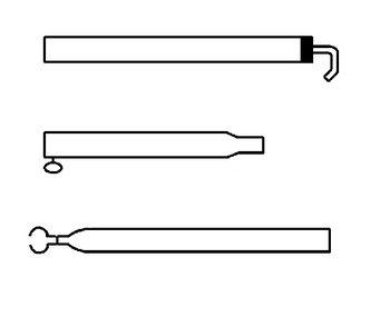 Extra dakligger 28/25 mm.170-260 cm staal