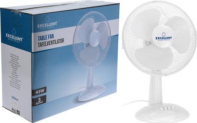Ventilator Tafelmodel 30 cm Wit