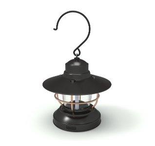 Barebones Mini Edison Lantern Black 2AA Usb