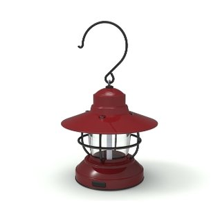 Barebones Mini Edison Lantern Red 2AA Usb
