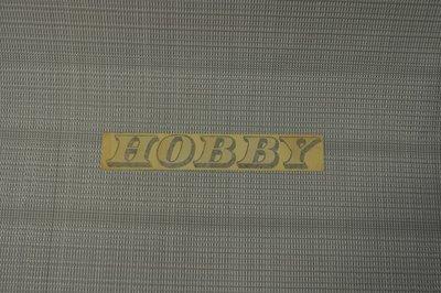 Hobby sticker dikke opdruk